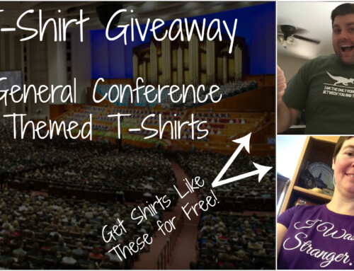 Vote for the Best General Conference Themed T-Shirt- Winner Announced