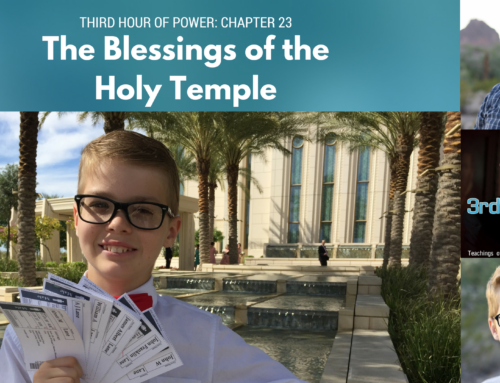 Gordon B. Hinckley- Chapter 23: The Blessings of the Holy Temple