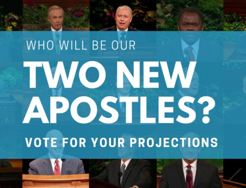 Poll: Who Will Be Our Two New Apostles?